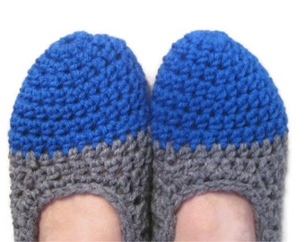 Crocheted Slippers, Slipper Socks, Made To Order, Pick Your Own Colors