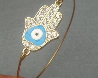 Hand  Bangle Bracelet Style 9