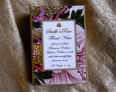 Floral Notes Small Solid Perfume Locket set