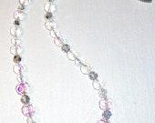"Women's Necklace "" Glittery"" Crystal"