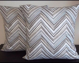 Single Pillow Cover 12x16 or 18 inch-Free Shipping - Robert Allen Canton Lake Home Decor Fabric