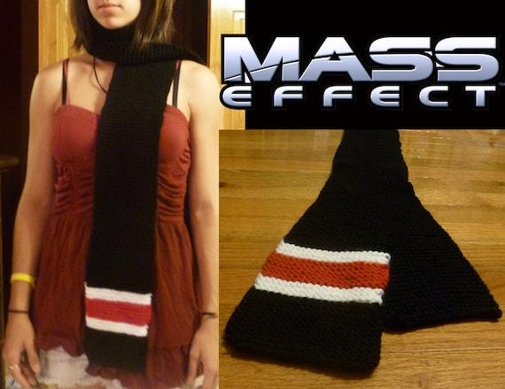 Mass Effect Knit Scarf