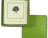 Sage Green Lapel Pin Gift Box