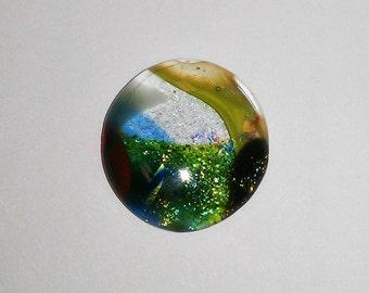 Dichroic Glass Cabochon