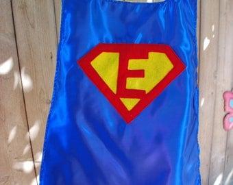 Custom Boys Reversible Personalized Super Hero Cape: Superman