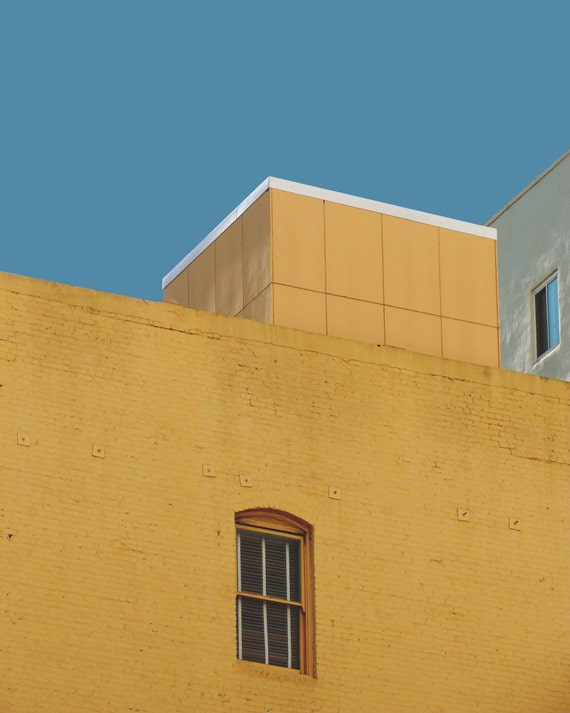 Urban Pop No. 1- Abstract Home Decor, City Architecture, Pop Surreal, Street Photography, Minimalist, Digital Collage