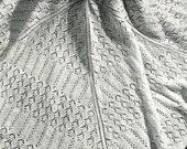 40s design- Garden baby shawl Pattern- Pretty pretty- Australian knitting ePattern (PDF)