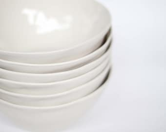 organic breakfast bowl - porcelain (milk colour)
