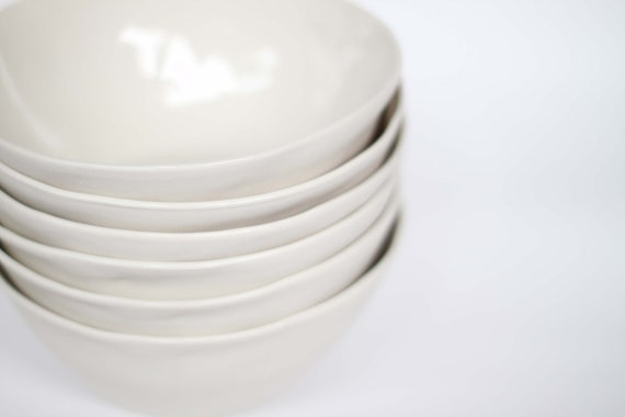 organic breakfast bowl - porcelain (milk colour)