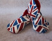 London, United Kingdom UK England kimono shoes for newborns