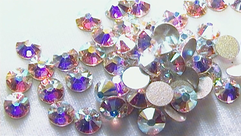 crystal ab 16ss 2058 swarovski elements rhinestones flat back