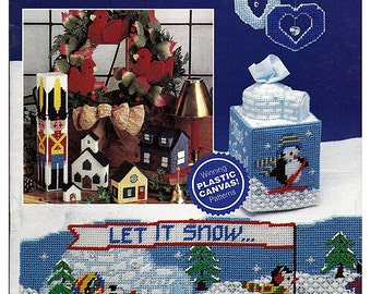 Winter Wonderland Plastic Canvas Pattern Book  The Needlecraft Shop 903302