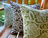 Shabby chic pillow, pillow set, summer pillows, floral and vine pillows, farmhouse decor pillows, cottage decor