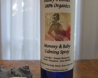 Hailey's Mommy & Body Organic Calming Spray