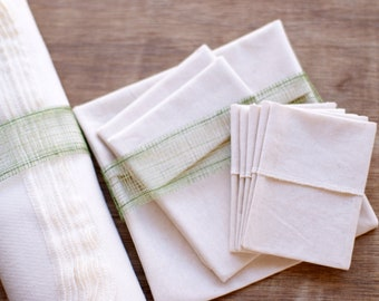 Organic Variety Package with Organic Tea Bags, Organic Un Paper Eco Towel, Organic Sandwich Bags
