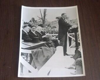 Vintage 1959 Governor Franklin D.Roosevelt Photo