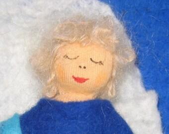 Sleeping doll, Puppi, dolls, doll, Waldorf inspired