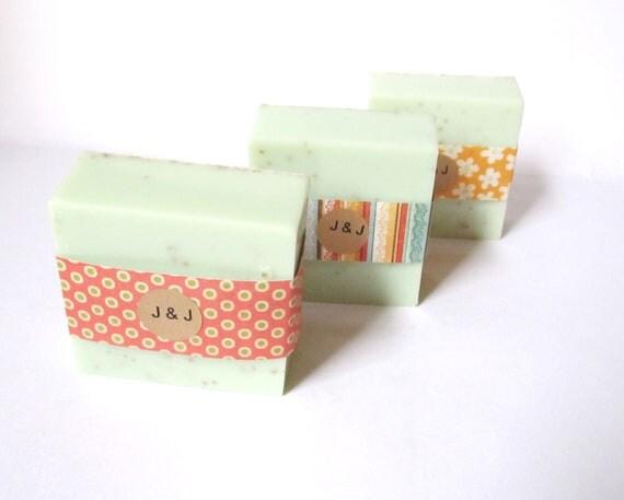 75 Wedding Favors Full Bars Handmade Soap Soaps Bridal Shower