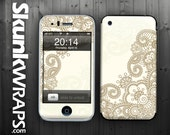 Apple iPhone 3G / 3GS Skin Cover  - Henna  Glossy Matte Leather option