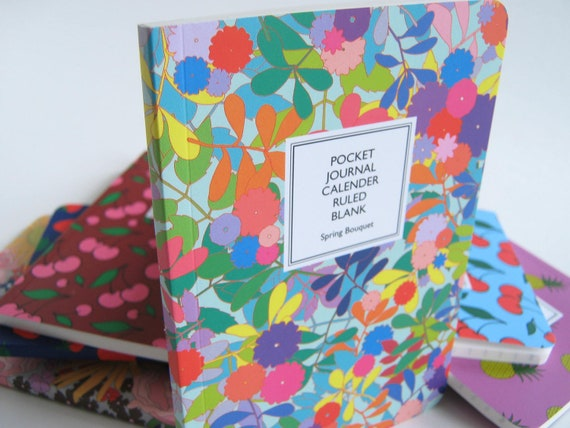 Spring Bouquet, Pocket Journal