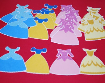 Princess Die Cuts (24) 2.25""