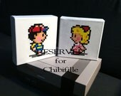 RESERVED for Chibifille--Jeff and Poo from EarthBound