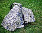 Baby Car Seat Cover - Bikes