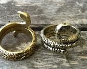 Brass RattleSnake Ring