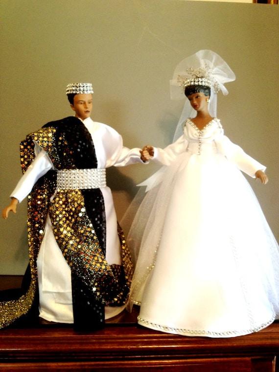 African american wedding dolls wedding decoration bride for American wedding decoration