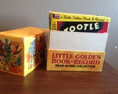 Vintage Little Golden read and listen along record box set