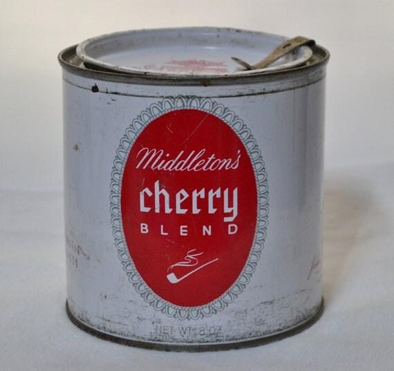 Vintage Middleton S Cherry Blend Tobacco Tin