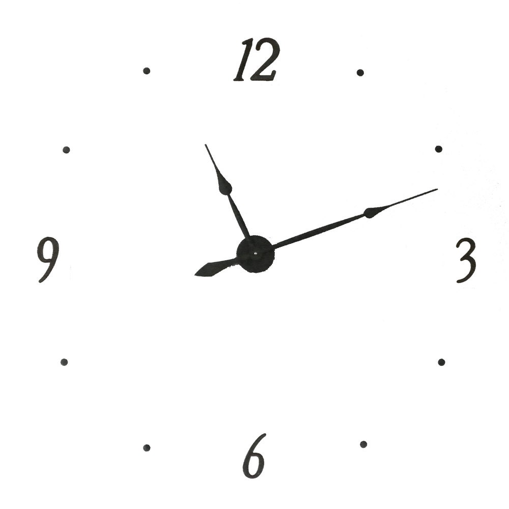 Kit40 extra large wall clock kit makes 40 inch wall clock details kit40 large wall clock kit amipublicfo Images
