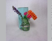 shabby chic mason jar wall sconce country french decor - you choose color