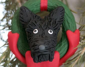 Scottish Terrier Scottie Dog Ornament