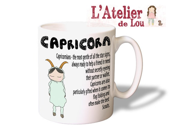 Capricorn Horoscope Mug