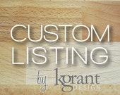 Custom Listing for njdupree