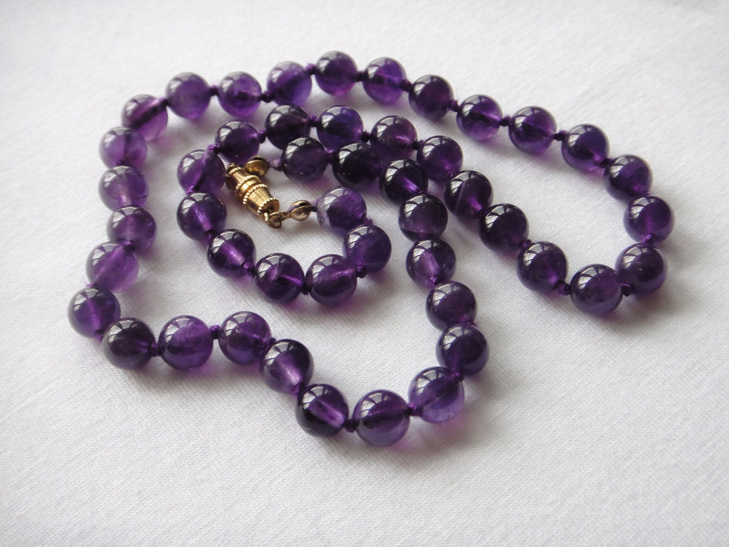 amethyst stone necklace - photo #22