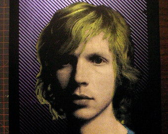 Beck Pop Art Handpulled Silkscreen Print