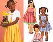 Butterick B4715  Child Sz  CF  4  5  6   Girls Dresses & Jackets FAST and Easy -- VERY Easy