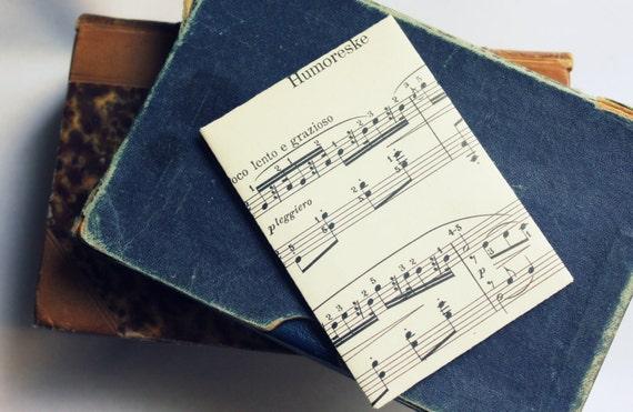 Vintage Sheet Music Envelopes- Stationary Set- Handmade-Set of 6