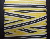 Yellow,  Black and  White Trim