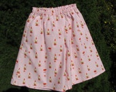 Toddler Girl Skirt-Pants - Heather Ross Gnomes - Size 3/4 T