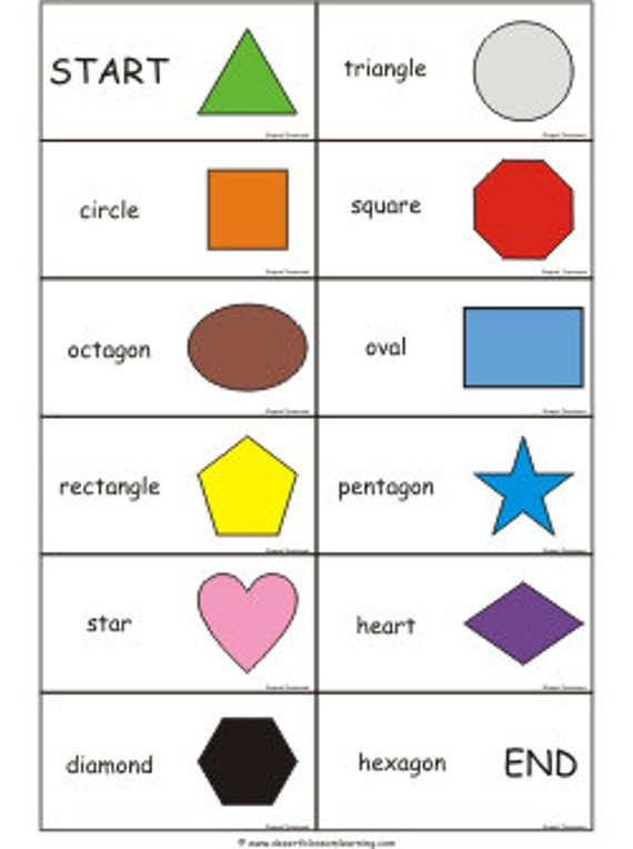 2d Shapes Games And Flashcards Amp Shape Dominoes Ebook Pdf