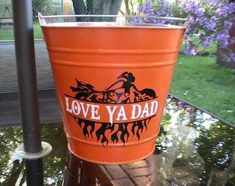Backyard Father's Bucket / Gift Basket