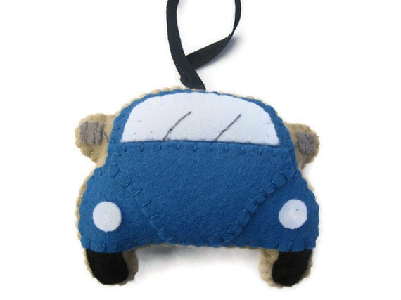 VW Beetle  Plush Blue