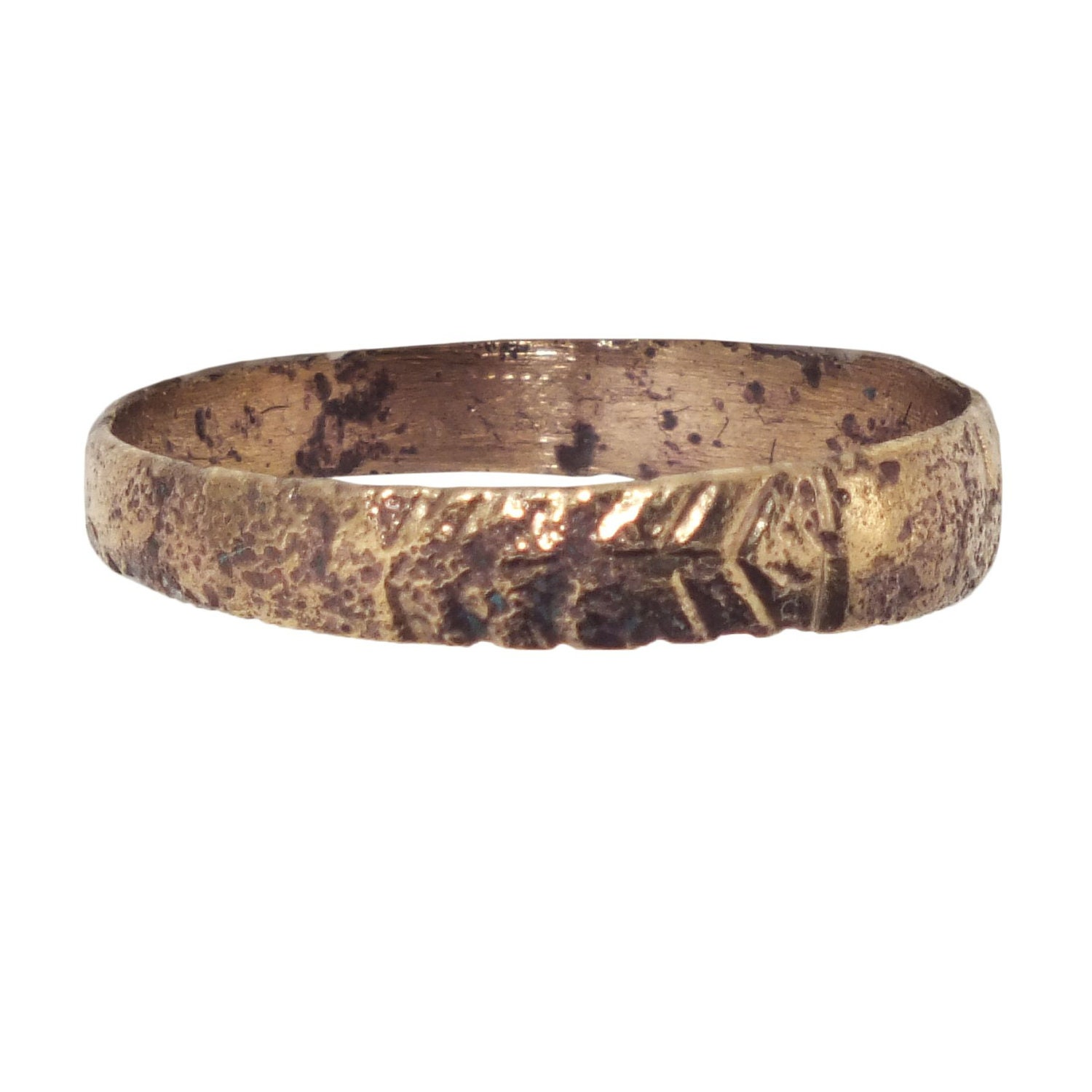 Viking Bands: Picardi Ancient Viking Wedding Ring Jewelry. By