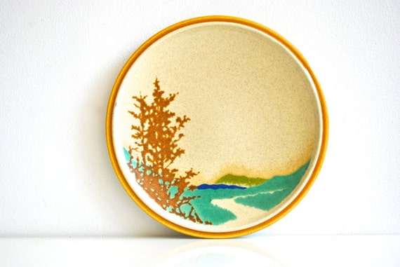 Mikasa Plates - Landscape Design - Set of Six