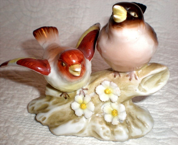 Bird Figurine Made in Japan