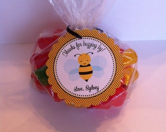 Bumble Bee Party Favor Bags