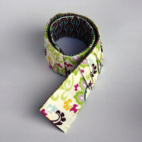 Camera Strap Cover - Slim Ruffled - ready to ship, one of a kind - White & Peacock - DSLR
